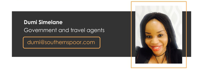 Dumi Simelane – Government and travel agents