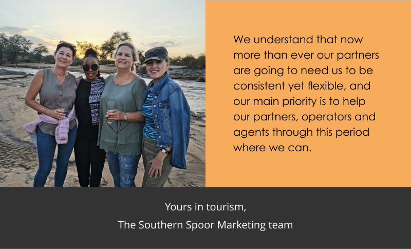 We're here to support our travel partners