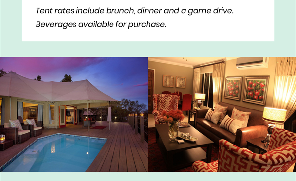 Discover the wild side of the Waterberg at Hippo Lakes - Tents